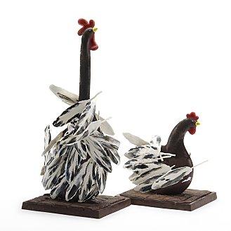 Coq et poulette Patrick Roger