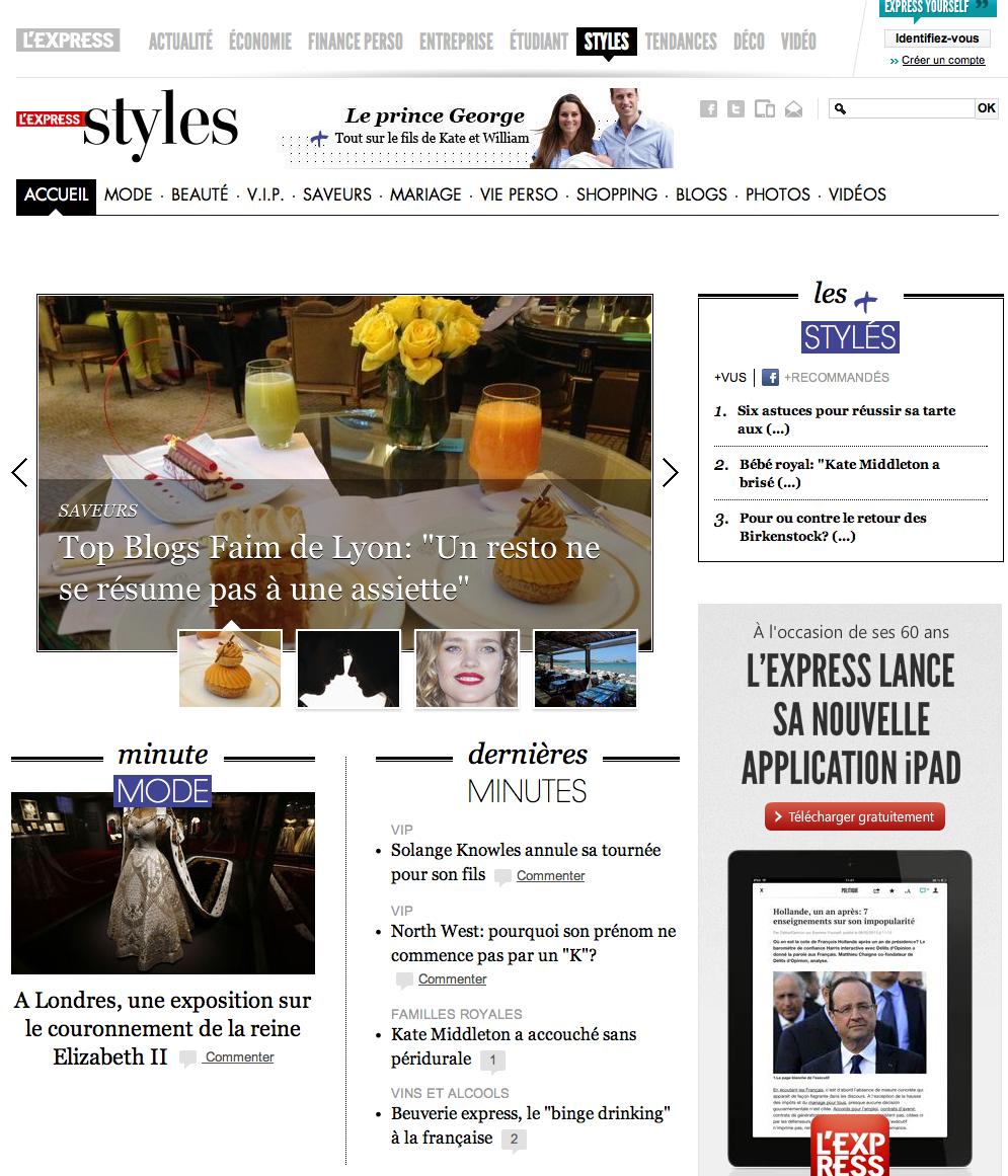 express styles juillet 2013 - 2