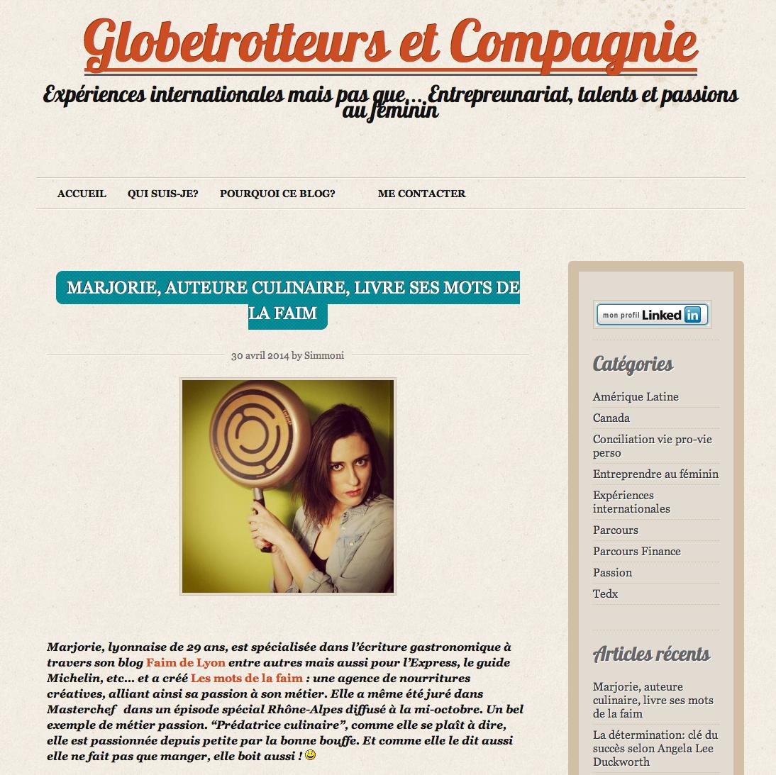 globetrotteurs et compagnie