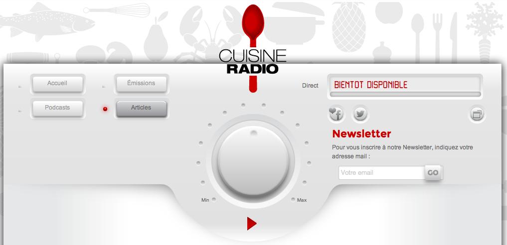 cuisine radio