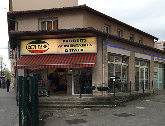 cofi cash lyon épicerie italienne