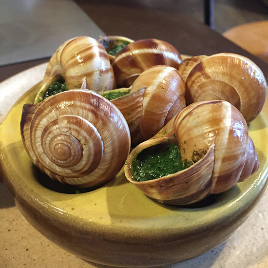 cafe terroir escargot