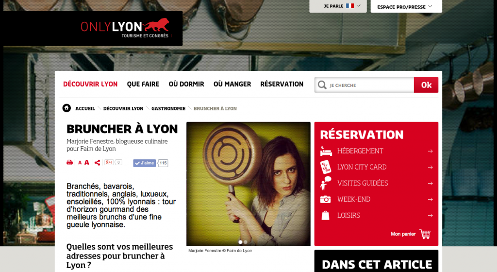 Où bruncher à Lyon ?